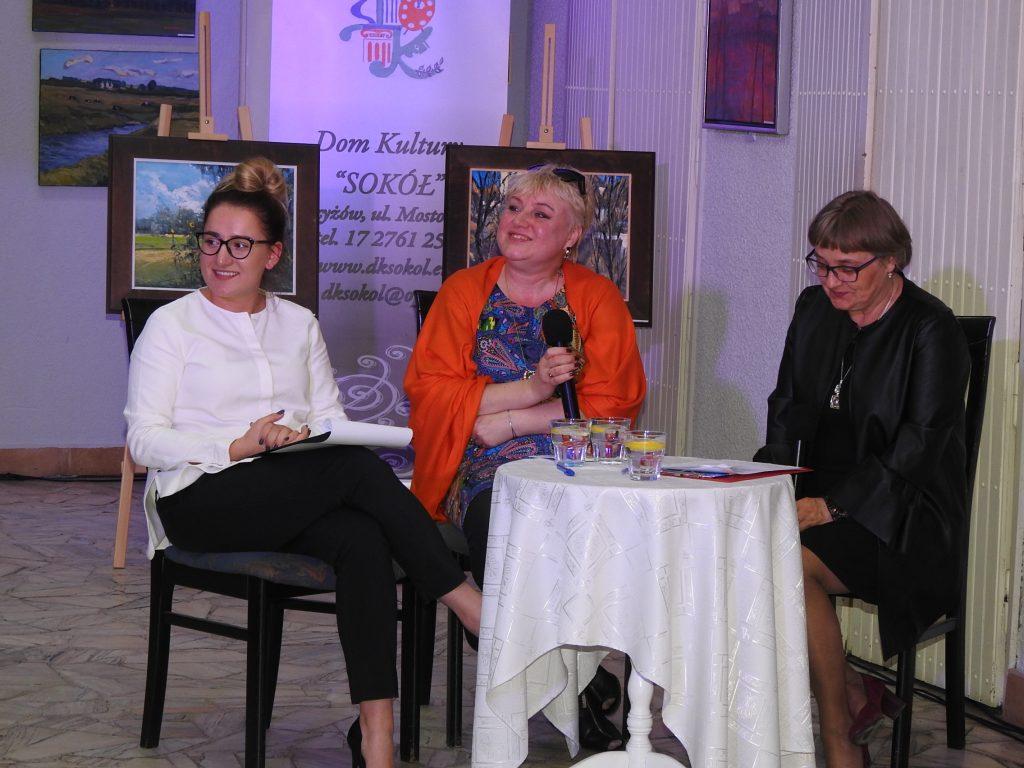od lewej: Patrycja Skalska, Anna Pacuła Cyzio, Barbara Szlachta
