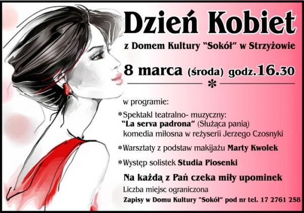 """Dzień Kobiet z Domem Kultury """"Sokół"""""""