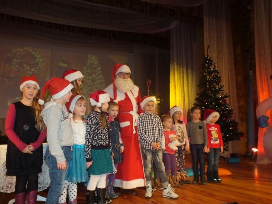Spotkanie z Mikołajem dla najmłodszych