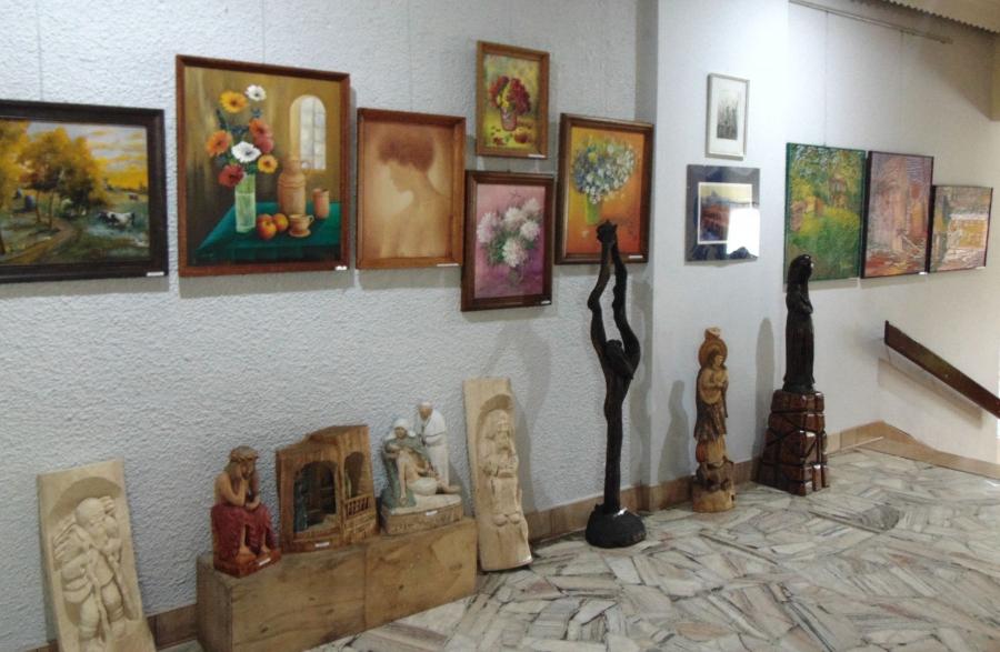 Wystawa prac strzyżowskich artystów malarzy, rzeźbiarzy i rękodzielników