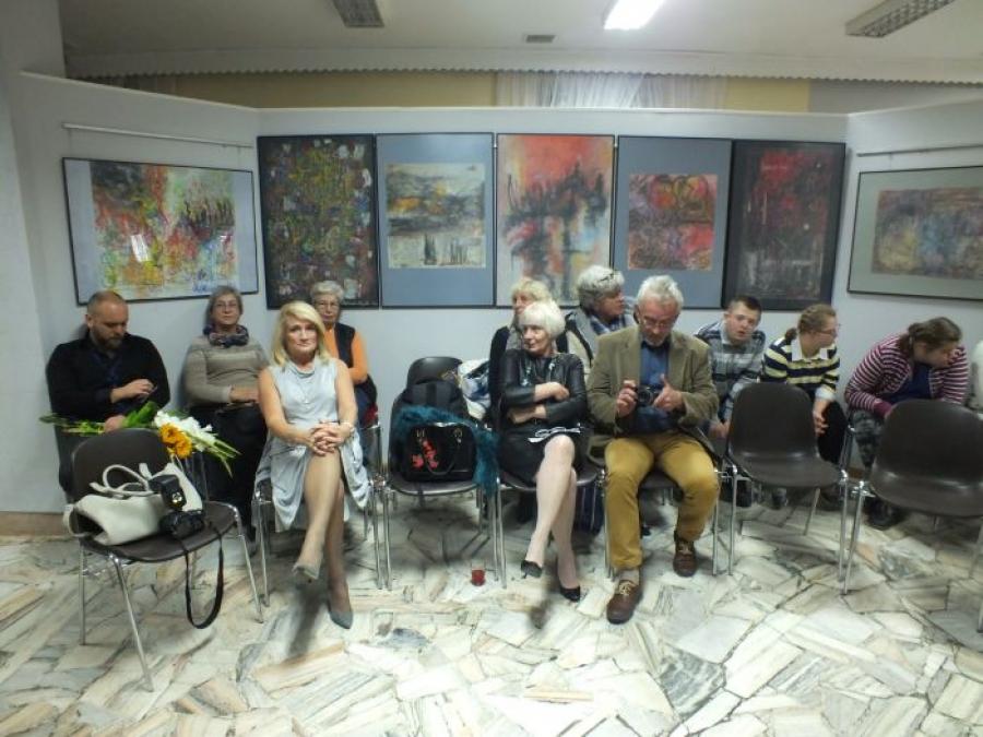 Finisaż wystawy Jolanty Cicińskiej i Aleksandry Stępniak