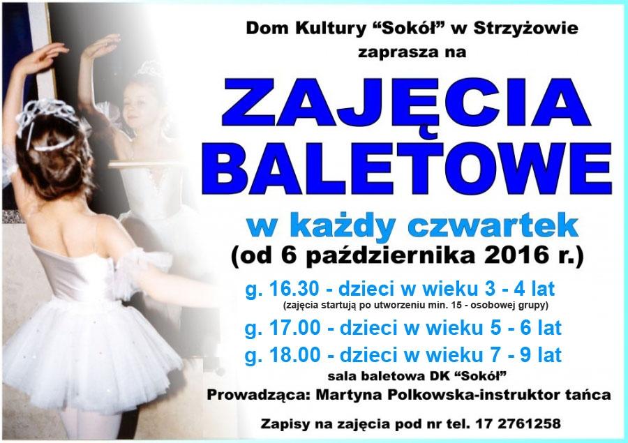 Zajęcia baletowe