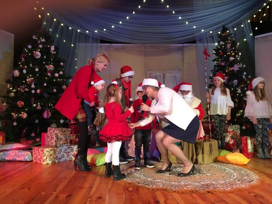 Spotkanie z Mikołajem dla najmłodszych w strzyżowskim Domu Kultury
