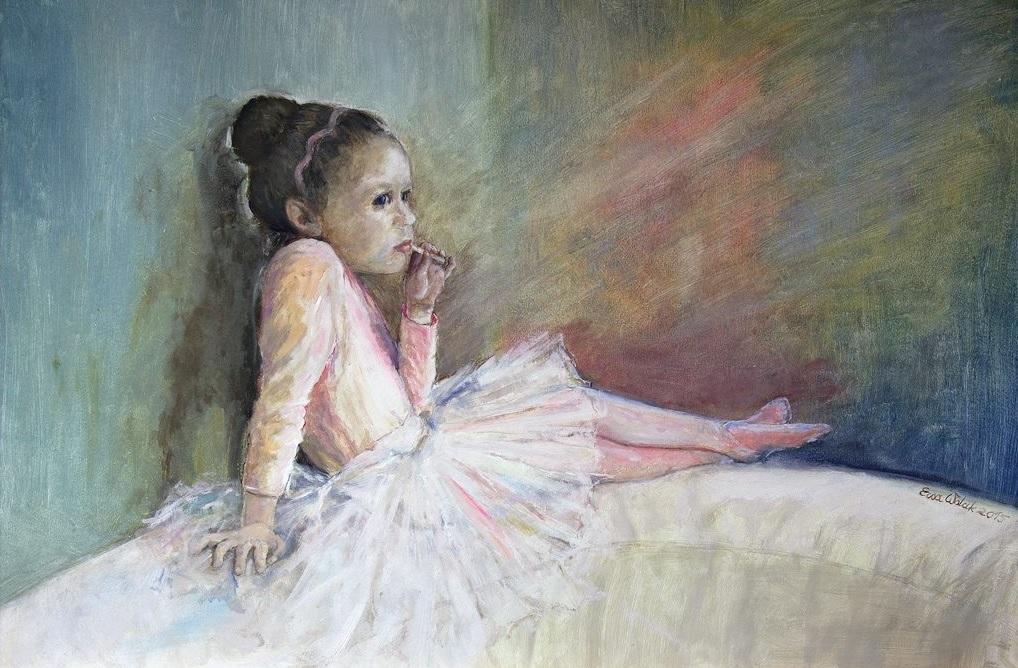 Wystawa malarstwa Ewy Wolak