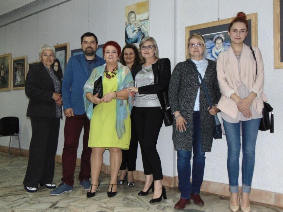 Finisaż wystawy malarstwa Ewy Wolak.
