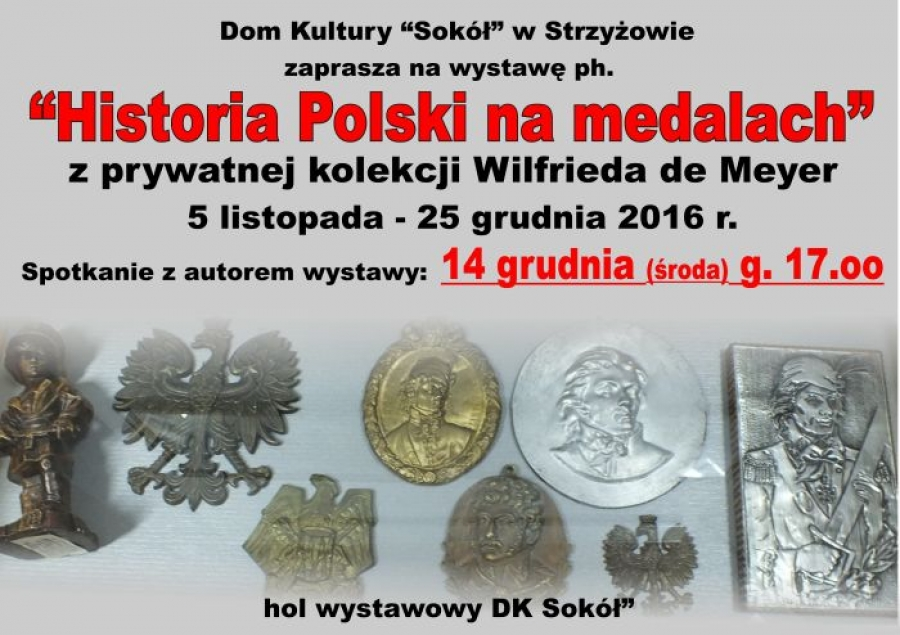 "Wystawa pn. ""Historia Polski na medalach"""