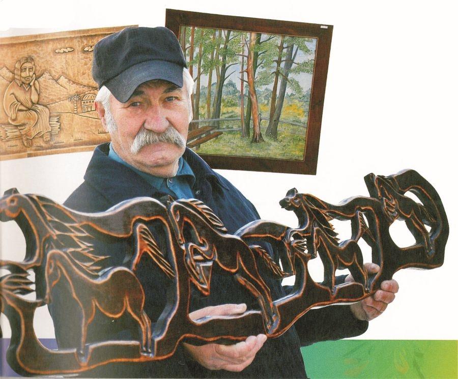 Finisaż wystawy prac Edwarda Gadziny ze Strzyżowa