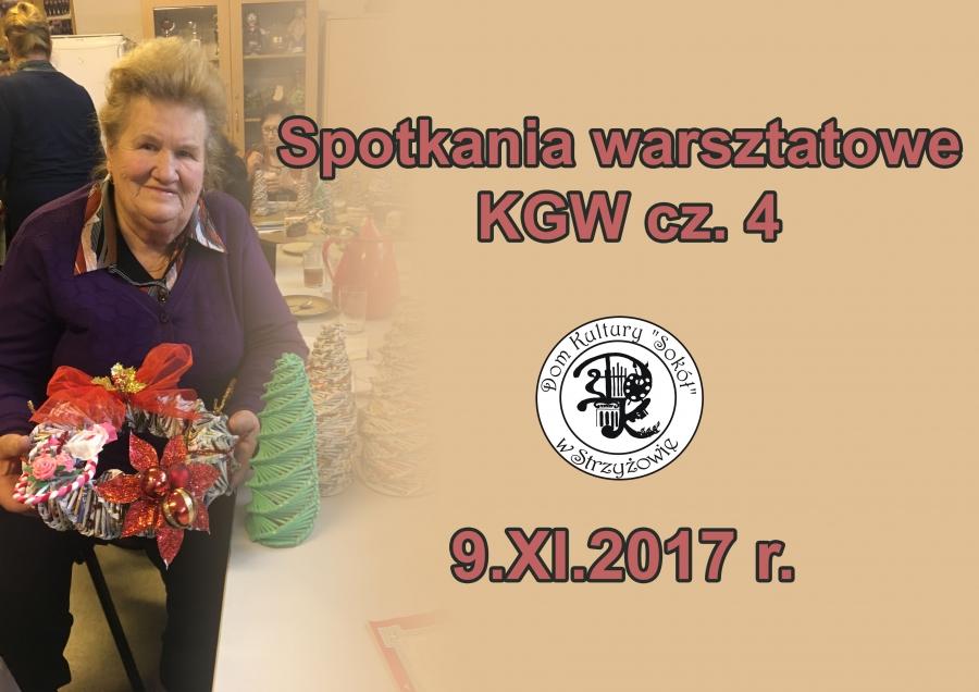 Spotkanie warsztatowe KGW cz.4