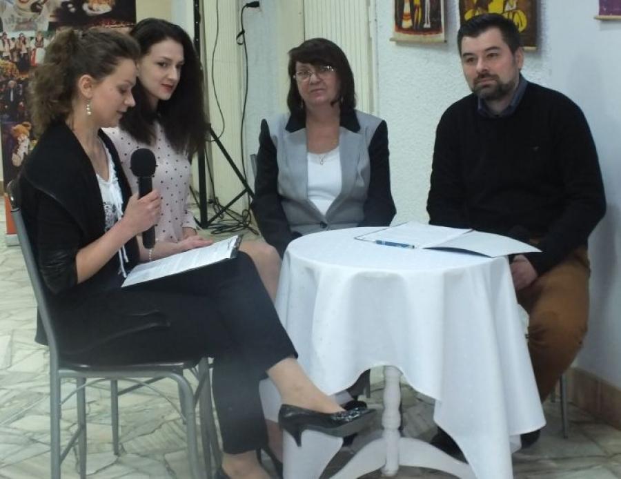 Finisaż wystawy Zuzanny Chomań
