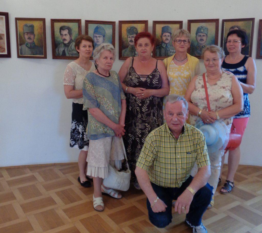 Strzyżowscy miłośnicy sztuki na Zamku w Krasiczynie