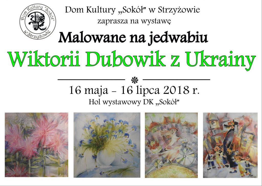 Wystawa prac  WIKTORII DUBOWIK