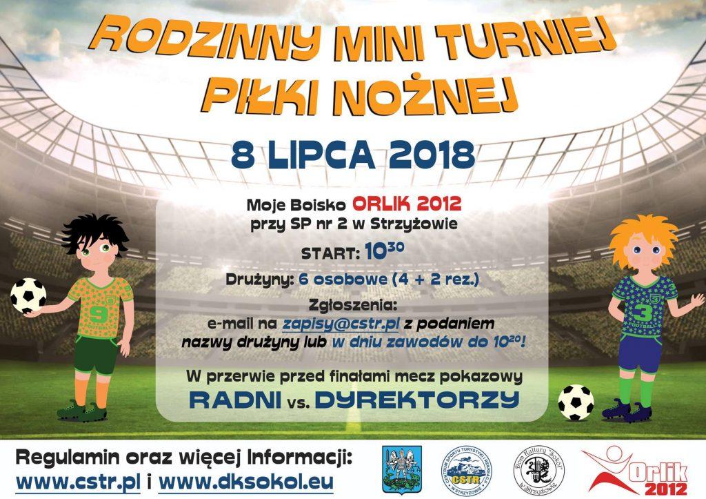 Rodzinny Mini Turniej Piłki Nożnej
