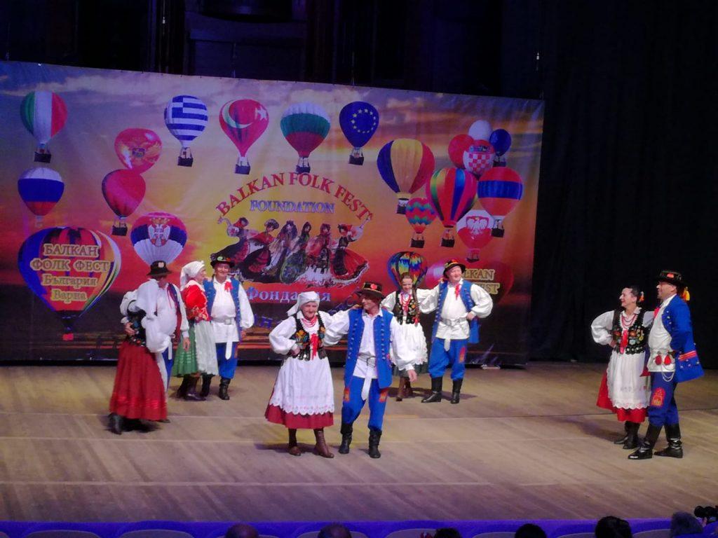 """Udział ZPiT """"Kłosowianie"""" w Festiwalu """"Balkan Folk Fest 2018"""" w Bułgarii"""