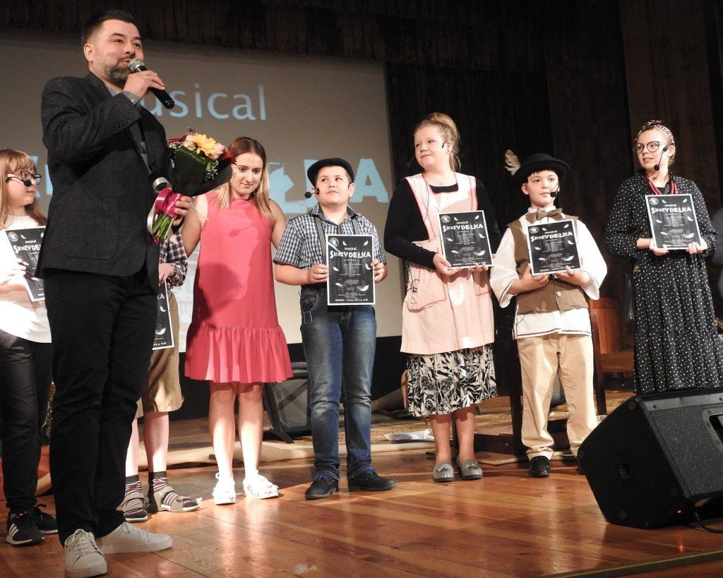 """Musical ,,Skrzydełka"""" wg Małgorzaty Jokiel"""