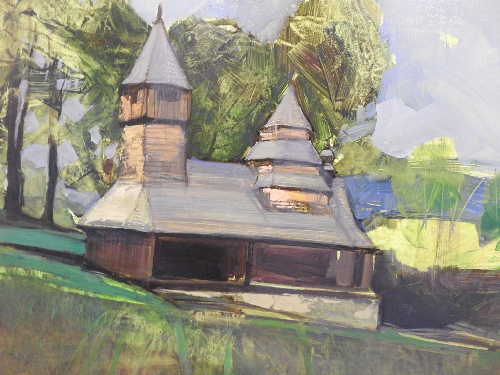 Wystawa prac sanockiego artysty Zdzisława Twardowskiego
