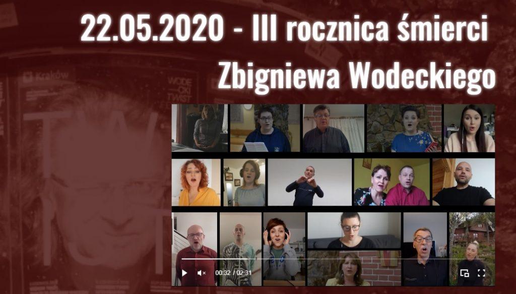 III rocznica śmierci Zbigniewa Wodeckiego