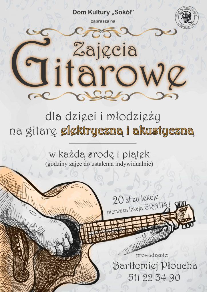 Zajęcia Gitarowe