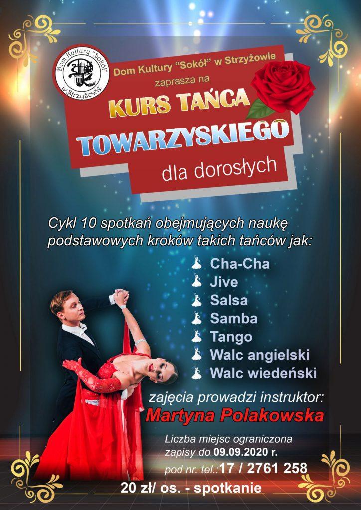 """Taniec towarzyski z DK""""Sokół"""""""