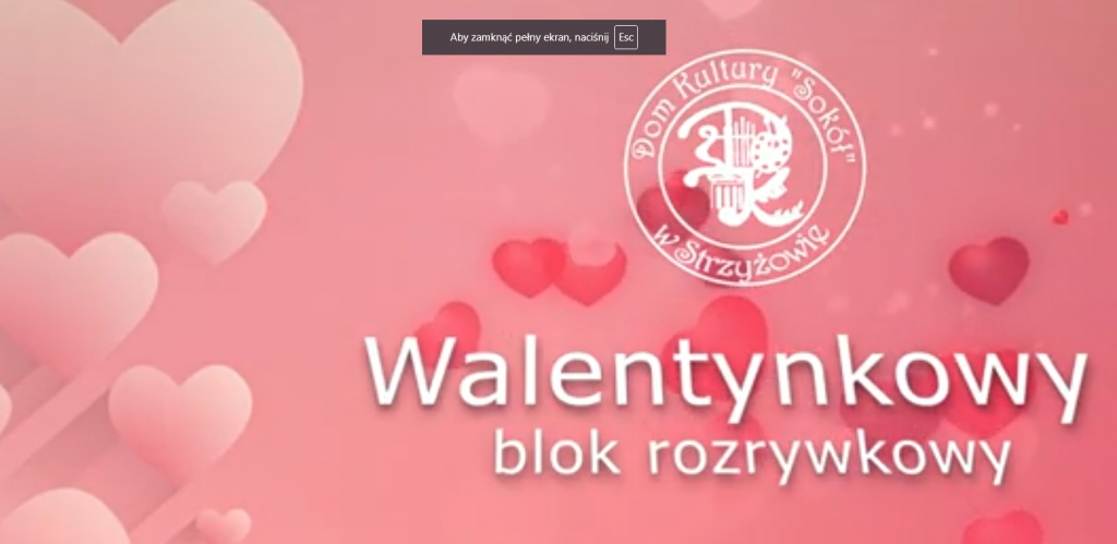 Walentynkowy Blok Rozrywkowy