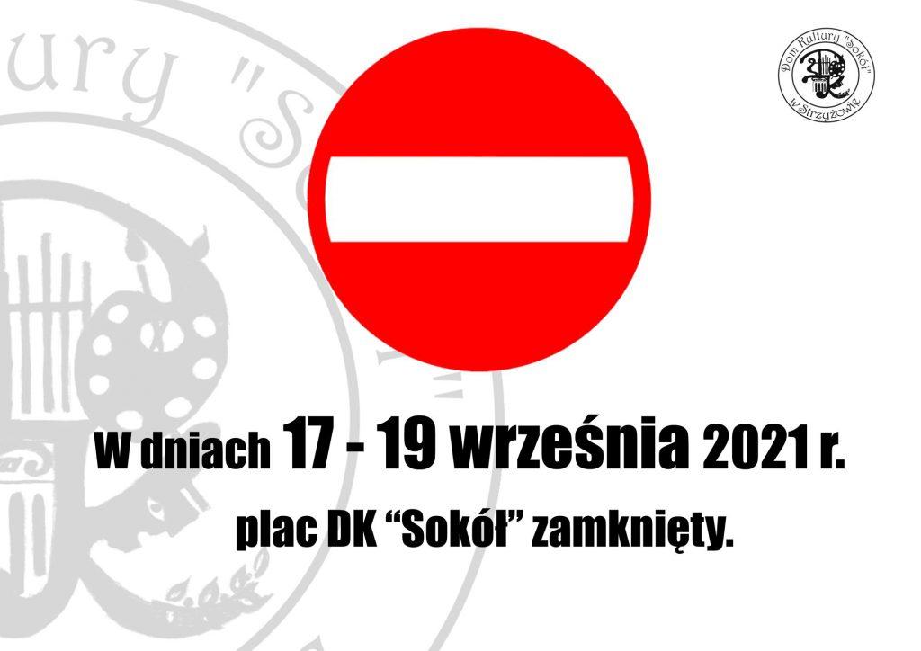 Plac DK zamknięty